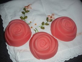 Rose shaped Soaps, U Choose Scent