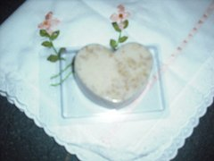 Hand Made Heart Shaped Soap, Unscented