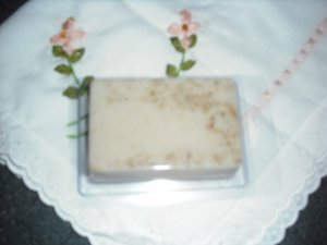 Hand Made Rectangle Shaped Soap, Unscented