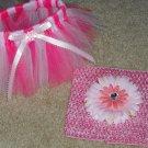 Hand Made TUTU Skirt,  2 Tone Pink