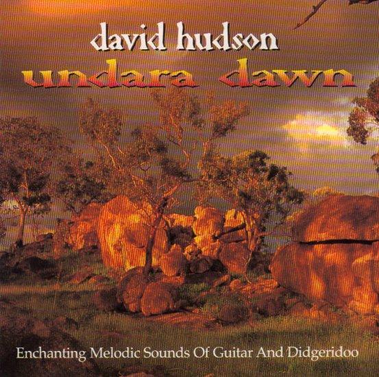 DAVID HUDSON - UNDARA DAWN - AUSTRALIA - DIDGERIDOO - CD