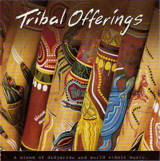 ASH DARGAN - TRIBAL OFFERINGS - AUSTRALIA - DIDGERIDOO - CD