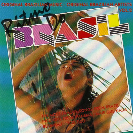 TICO TICO - MAIS QUE NADA - GAROTA DE IPANEMA - GIRL FROM IPANEMA - RITMO DO BRAZIL - BRASIL - CD