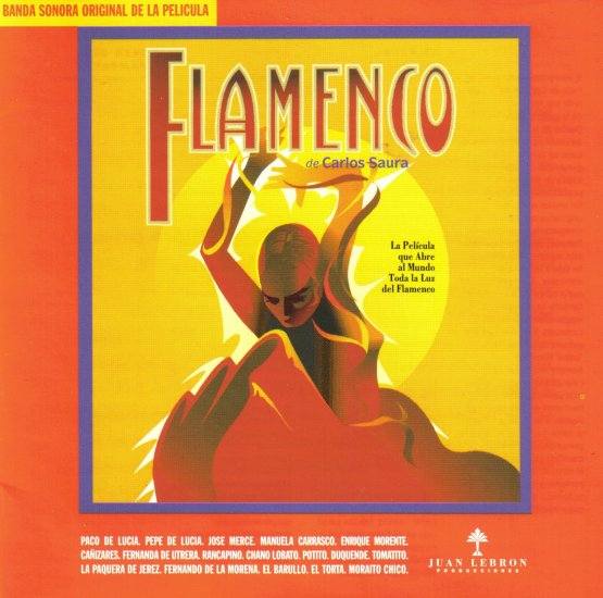 JORGE PARDO - JOSE MERCE - MORAITO CHICO - SPAIN - FLAMENCO - SOUNDTRACK - CARLOS SAURO - CD