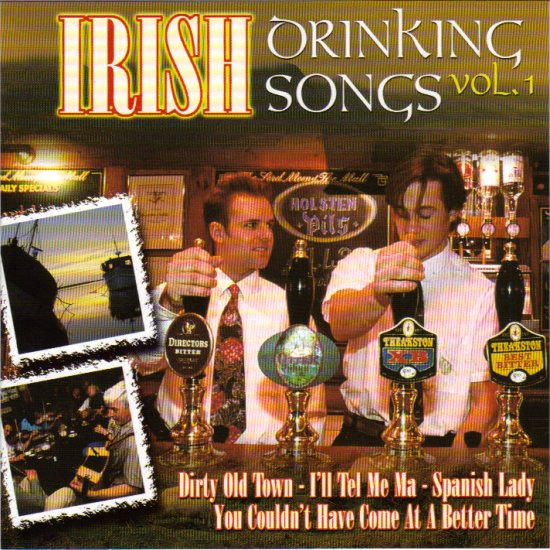 IRISH DRINKING SONGS - DIRTY OLD TOWN - MAID BEHIND THE BAR - IRELAND - CELTIC - CD