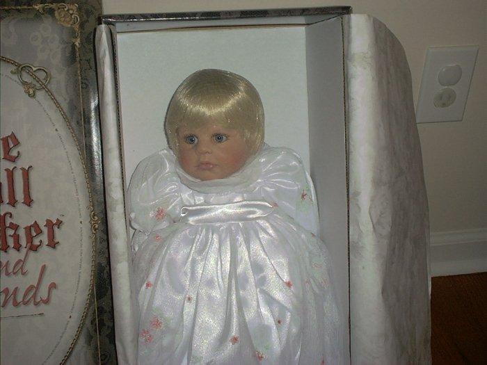 """Doll Maker MORNING DEW 22"""" Vinyl Baby NIB LE#091/250!"""