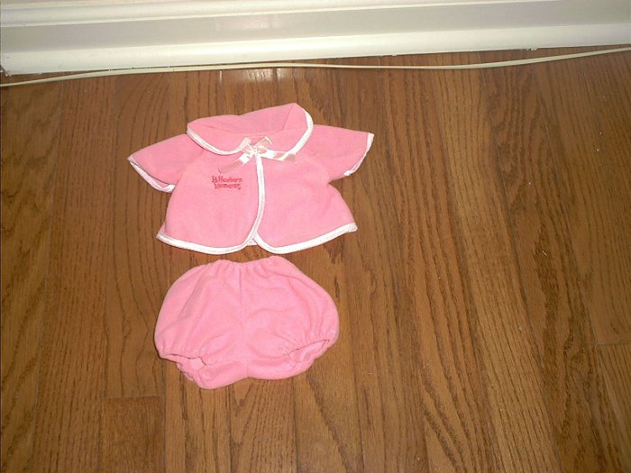 "Berenguer 2 PIECE PINK BATH OUTFIT NEW! 17"" DOLLS"