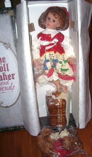 Doll Maker BEARLY ENOUGH TEA LEFT FOR ME Doll Set NIB LE#089/200 Denise McMillan RARE