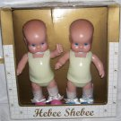 Hebee Shebee BOY & GIRL Doll Twin Set Millennium Edition by Horsman 2001 NEW