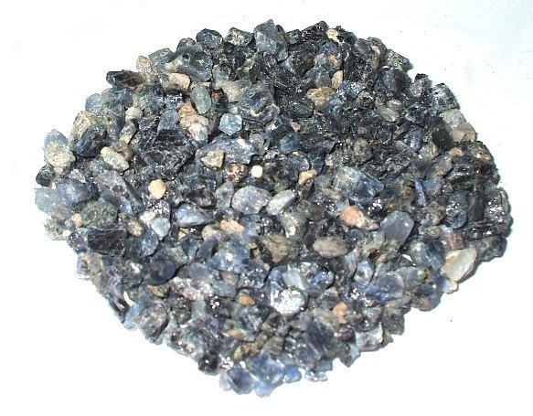 1 natural rough sapphire bag with 67 pieces, weight total 35 carats.FREE GLOBAL Shipping.