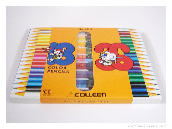 Colleen Colour Pencils, 18 Pencils, 36 Colours