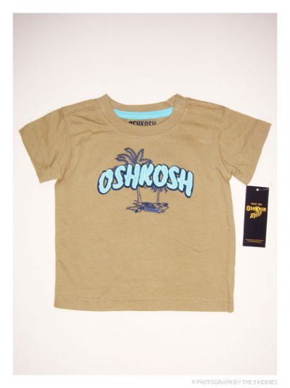 [SALE] 3-6M Unisex OshKosh B'gosh Shortsleeve Top: OSHKOSH Beach Wear
