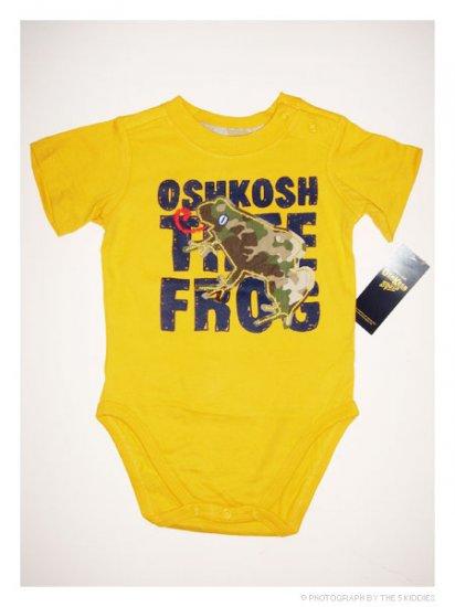 [SALE] 12M Unisex OshKosh B'gosh Onesie/Romper: OSHKOSH Tree Frog