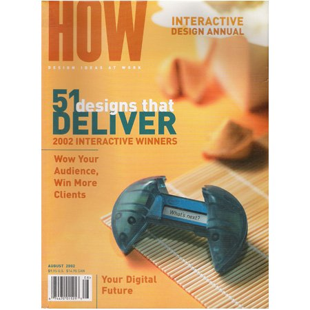 HOW Magazine August 2002 Issue
