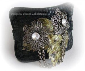 Designer Bracelet 10 by Zhanna Zabolotskaia