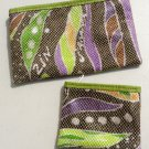 Set of two: wallet & coin purse