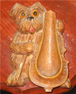 Vintage DOG Pipestand Pipe Holder Rest   TOBBACIANA Collectible