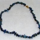 All-natural Lapis Lazuli Chip Necklace