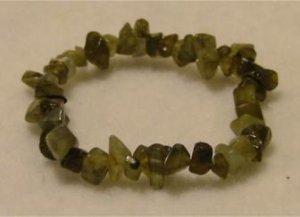 All-Natural Green Labradorite Bracelet