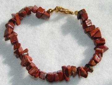 All-Natural Red Jasper Bracelet