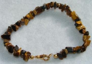 All-Natural Tiger's Eye Bracelet