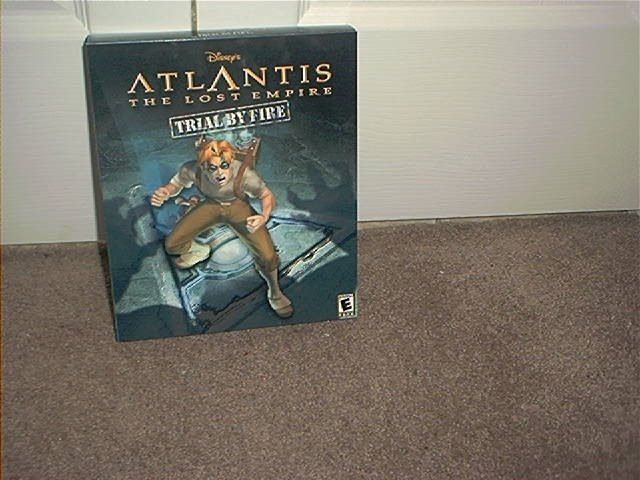 DISNEY'S ATLANTIS THE LOST EMPIRE TRIAL BY FIRE CD ROM GAME BRAND NEW