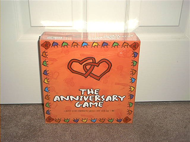 THE ANNIVERSARY PARTY BOARD GAME BRAND NEW GREAT FUN