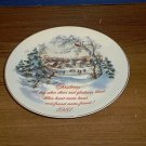 AMERICAN GREETINGS CHRISTMAS 1981 COLLECTOR PLATE