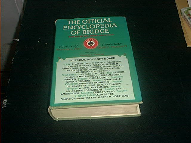 THE OFFICIAL ENCYCLOPEDIA OF BRIDGE BOOK 3RD EDITION