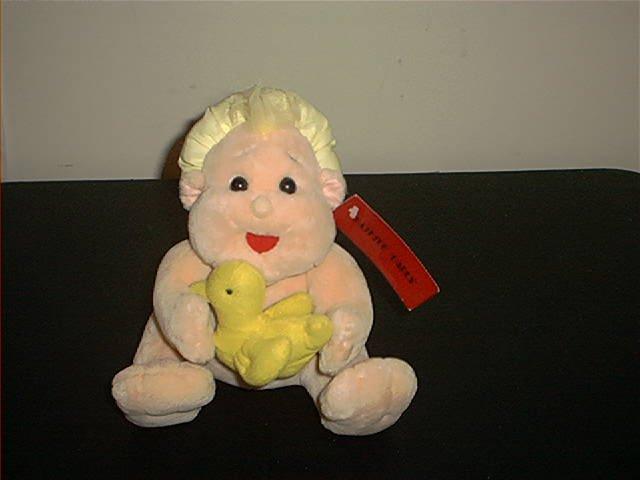 SUGARLOAF CREATIONS HAPPY BATHERS BATHTUB BARES PLUSH BABY READY FOR THE BATH