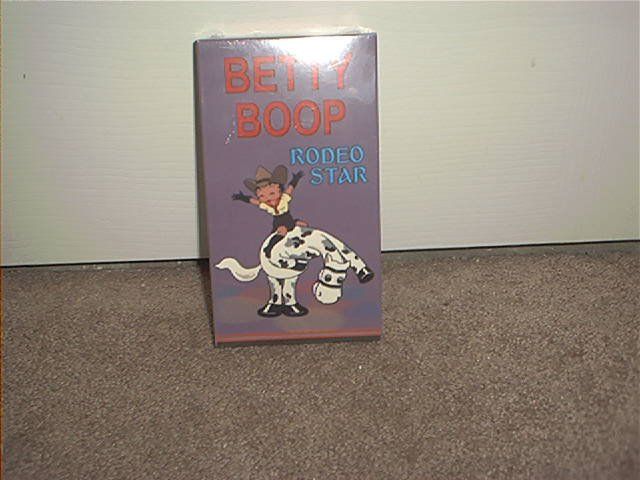 BETTY BOOP RODEO STAR VHS VIDEO BRAND NEW