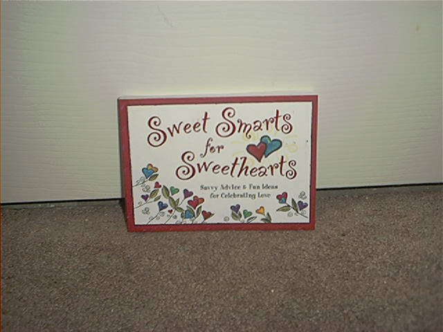 SWEET SMARTS FOR SWEETHEARTS BOOK BRAND NEW