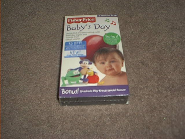FISHER PRICE ~BABY'S DAY~ VHS VIDEO ~BRAND NEW!~