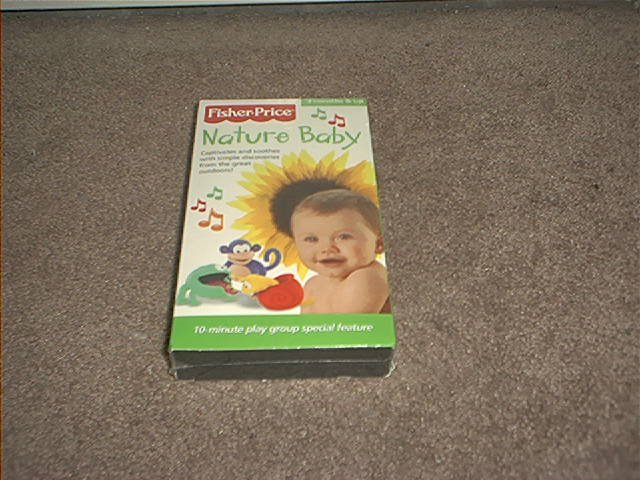 FISHER PRICE NATURE BABY VHS VIDEO BRAND NEW