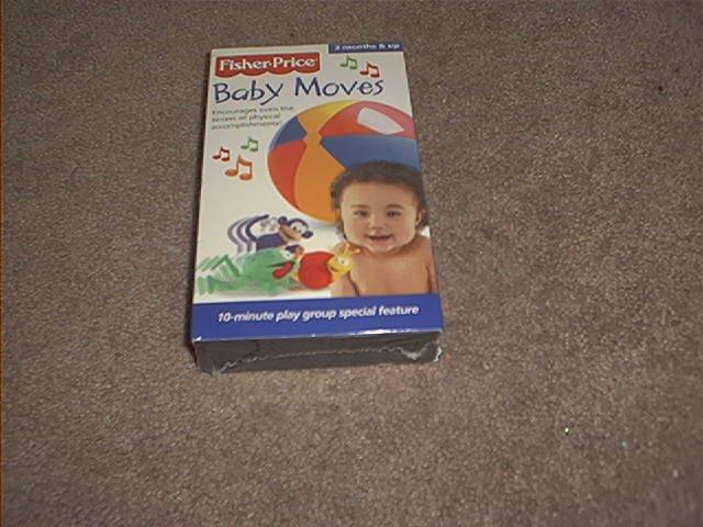FISHER PRICE ~BABY MOVES~ DEVELOPMENTAL VHS VIDEO ~BRAND NEW!~
