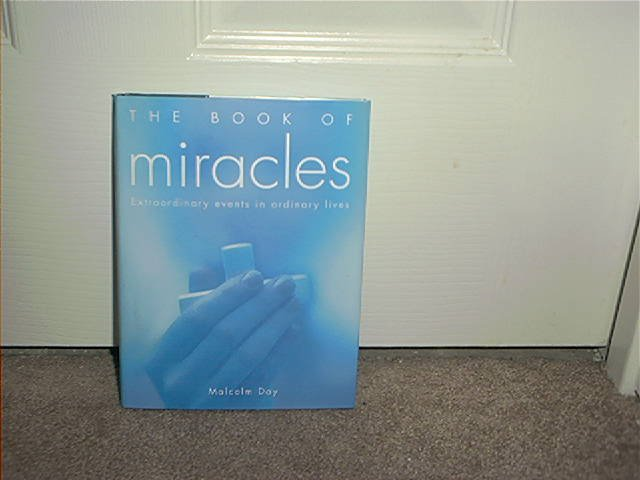 THE BOOK OF MIRACLES ~EXTRAORDINARY EVENTS IN ORDINARY LIVES~ BRAND NEW!~