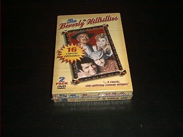 THE BEVERLY HILLBILLIES 2 PACK DVD ~16 CLASSIC EPISODES!!~ BRAND NEW!