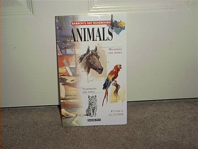 ANIMALS BARRON'S ART HANDBOOK BRAND NEW! HARDCOVER