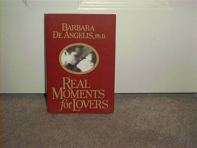 REAL MOMENTS FOR LOVERS BOOK BRAND NEW