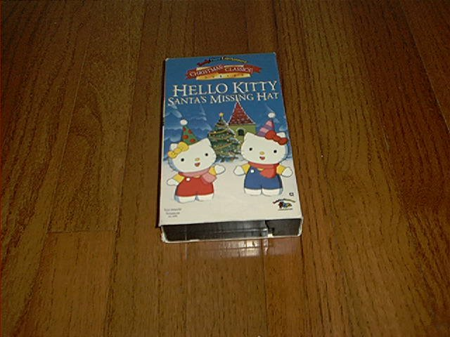HELLO KITTY SANTA'S MISSING HAT VHS VIDEO EXCELLENT CONDITION