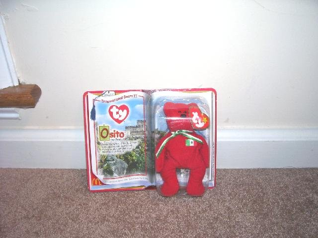 MCDONALDS TY BEANIE BABY OSITO NEW IN PKG 1999