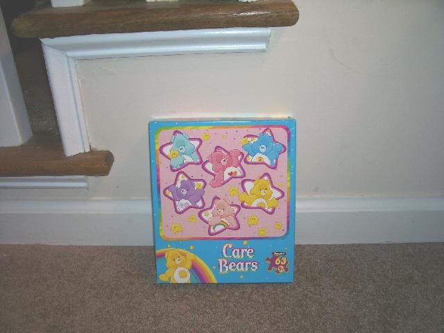 CARE BEARS ALL STARS JIGSAW PUZZLE NEW! 63 PIECES