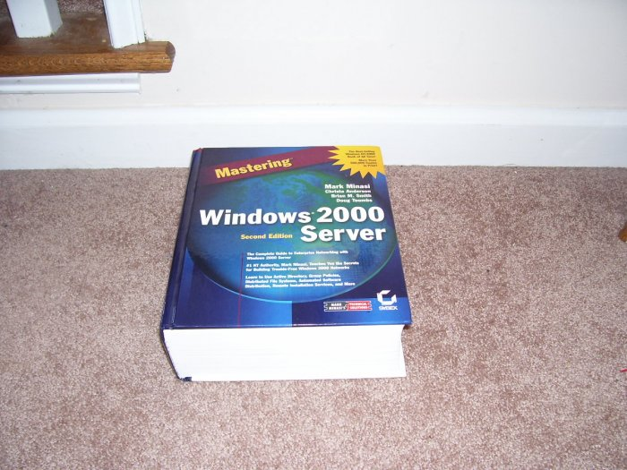 MASTERING WINDOWS 2000 SERVER BOOK EXC!