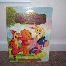 DISNEY WINNIE THE POOH'S FRIENDLY ADVENTURES Book EXC! 1999