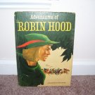 VINTAGE 1953 ADVENTURES OF ROBIN HOOD BOOK VG RARE RANDOM HOUSE