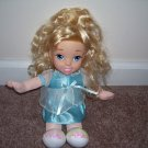 "Fisher Price BEDTIME CINDERELLA Doll 12"" GOOD CONDITION!  HARD TO FIND!"