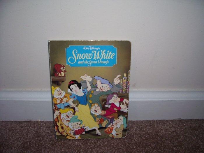Disney SNOW WHITE & THE SEVEN DWARFS Board Book