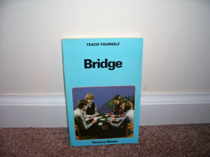 TEACH YOURSELF BRIDGE Book EXCELLENT CONDITION! 1984 FROM ENGLAND! HTF