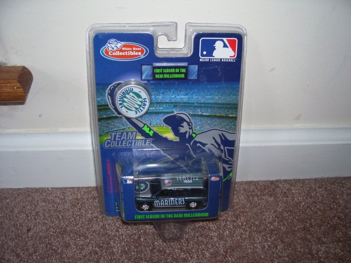 White Rose Collectibles SEATTLE MARINERS 2000 SUV DIECAST NEW!
