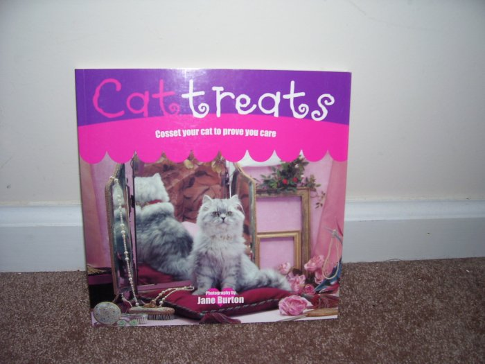 CAT TREATS BOOK ~ COSSET YOUR CAT TO PROVE YOU CARE ~ NEW! 2002